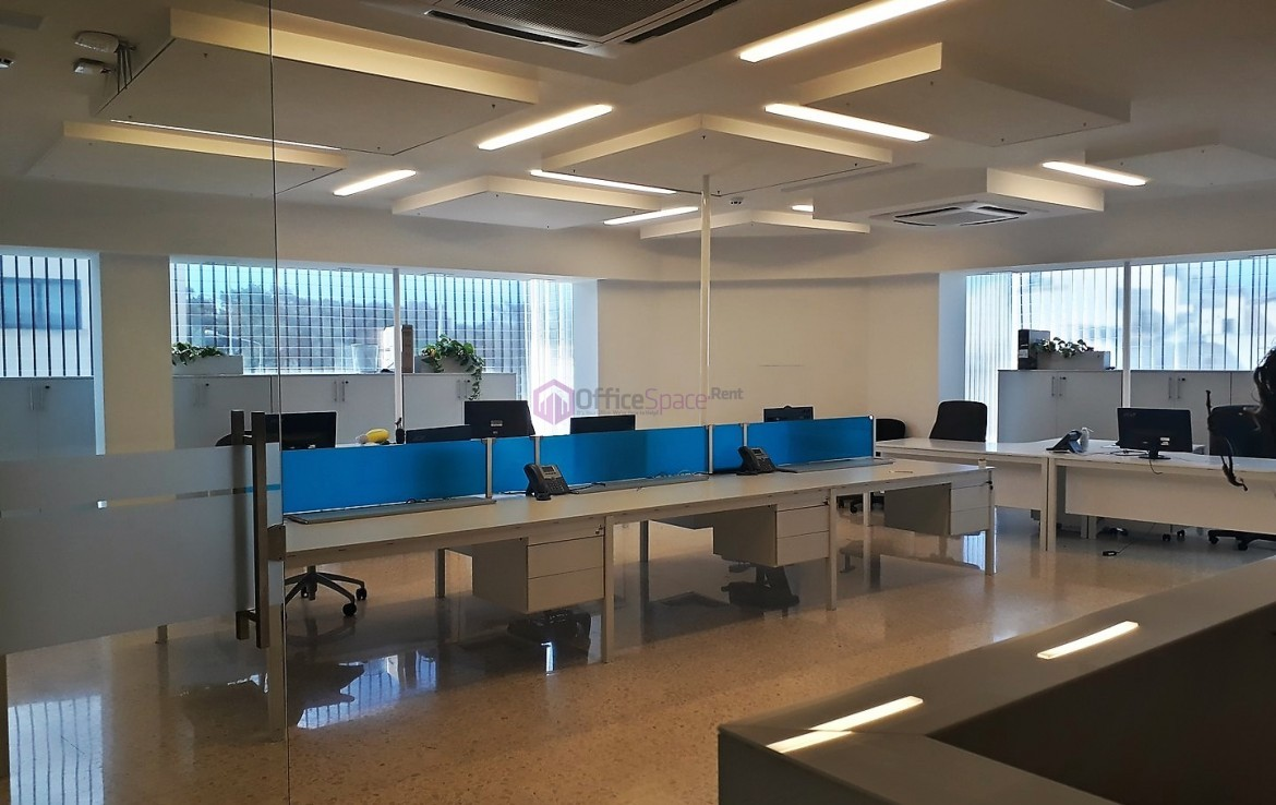 Modern Open Plan Office in Malta Birkirkara