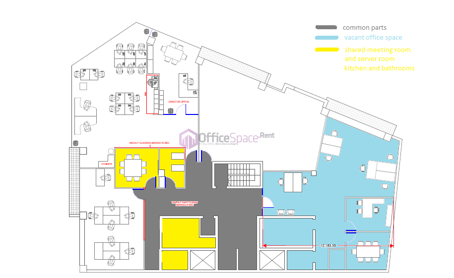 Floor plan office space renting in malta made simple for Business office floor plans
