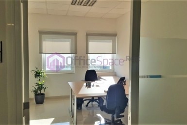 Two Workstations Serviced Office Malta